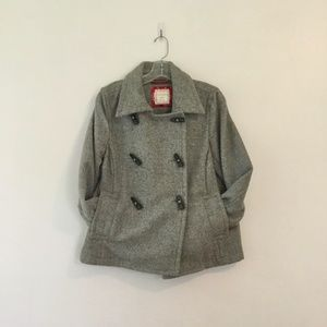 Old Navy wool blend toggle pea coat